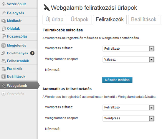 Ingyenes Wordpress Plugin
